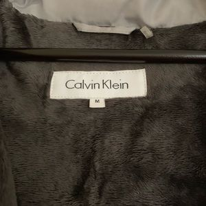 Calvin Klein Grey Winter Coat